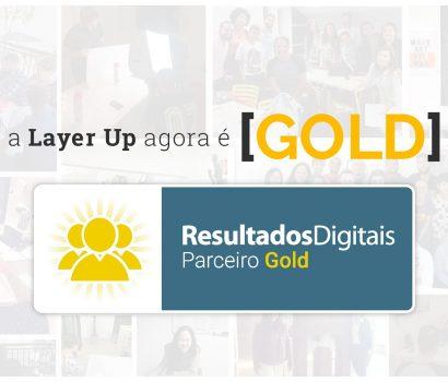 Layer Up é reconhecida como parceira Gold pela Resultados Digitais