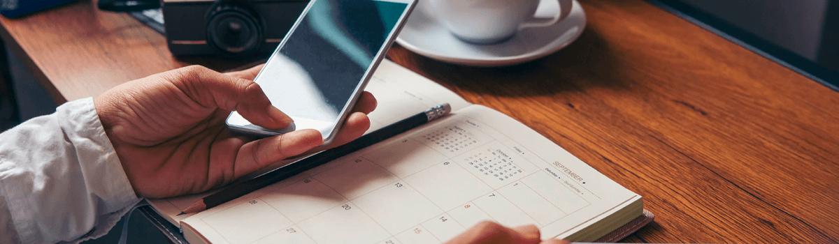 Agendamento online: praticidade desde o primeiro contato